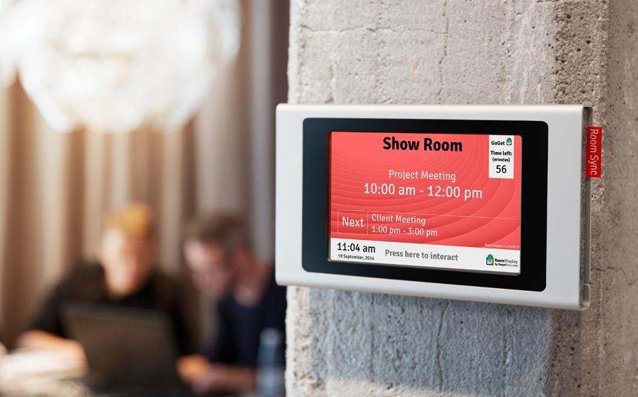 Effective Room Bookings GoGet Meeting Room Display